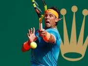 Da nützte aller Einsatz nicht: Rafael Nadal scheiterte in Monte Carlo im Halbfinal (Bild: KEYSTONE/EPA/SEBASTIEN NOGIER)