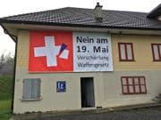Dieses Plakat kam über die Ostertage weg. (Bild. PD)