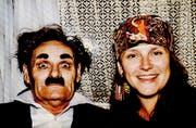 Die Artistin trennte sich schon früh von ihrem gewalttätigen Mann, der als Clown auftrat. (Foto: Archiv Josefina Tanasa)