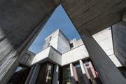 Die Kantonsschule Wattwil soll durch einen Neubau ersetzt werden. (Bild: Hanspeter Schiess)