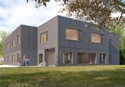 Der neue Kindergarten werde seiner Nutzung gerecht und sei mit einem guten Ausbaustandard konzipiert, heisst es seitens der Projektverantwortlichen. (Visualisierung: PD)