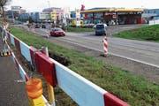 Mit der Südwestumfahrung erhält das Gewerbe Süd einen Vollanschluss des Knotens Eichfeld.