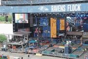 Bald bereit für die grosse Show: Die Hauptbühne des NFL-Drafts. (Bild: Vera Nieuwenhuis/AP (Nashville, 23. April 2019))