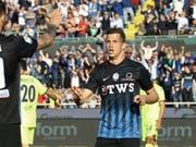 Atalanta (mit Remo Freuler) kann Mitte Mai zum zweiten Mal in seiner Vereinsgeschichte den Cup gewinnen (Bild: KEYSTONE/AP ANSA/PAOLO MAGNI)