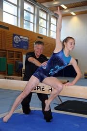 Vater Markus und Tochter Sira Keller sind ein eingespieltes Duo. (Bilder: Urs Huwyler)