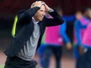 Ludovic Magnin tobt und hadert (Bild: KEYSTONE/MELANIE DUCHENE)