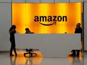 Dank des florierenden Internethandels und boomender Cloud-Dienste hat Amazon im ersten Quartal des Geschäftsjahres einen Rekordgewinn erzielt. (Bild: KEYSTONE/AP/MARK LENNIHAN)