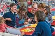 Selber Ausprobieren ist am Spannendsten, beispielsweise in der Stokys Sonderschau. (Bild: PD/Messe Luzern AG)