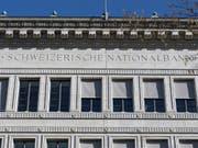 SNB schreibt im ersten Quartal Gewinn von über 30 Milliarden. (Bild: KEYSTONE/GAETAN BALLY)