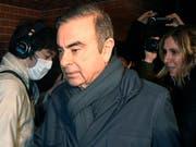 Ein japanisches Gericht erlaubt seine Freilassung gegen eine Millionen-Kaution: Ex-Nissan-Manager Carlos Ghosn. (Bild: KEYSTONE/AP Kyodo News)