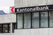 Der Hauptsitz der Schwyzer Kantonalbank in Schwyz. Bild: Alexandra Wey/Keystone (12. Mai 2017)