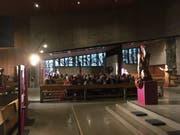 Anfänglich sorgten die Skulpturen in der Herz-Jesu-Kirche für Irritationen, doch das änderte sich mit der Zeit. (Bild: PD)