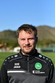 Stephan Oberli (38) arbeitet heute als medizinischer Masseur für den FC St.Gallen. (Bild: PD)