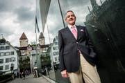 Präsident der Albert-Koechlin Stiftung Peter Kasper. (Bild: Roger Gruetter, 7. August 2012)