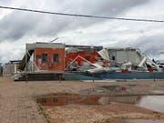 Der neuerliche Sturm «Kenneth» hat in Mosambik Tote, Verletzte und hohe Sachschäden verursacht. Die Schweiz hat deshalb ihre Hilfe in dem Land, das ein Schwerpunktland der Entwicklungszusammenarbeit bildet, ausgeweitet. (Neidi de Car valho/UNICEF via AP) (Bild: KEYSTONE/AP UNICEF/NEIDI DE CAR VALHO)