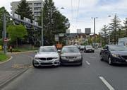 Wer ist hier schuld? Die Unfallbeteiligten machen unterschiedliche Angaben zum Unfallhergang. (Bild: Luzerner Polizei, 25. April 2019)