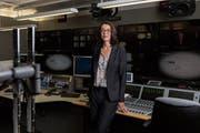 SRF-Direktorin Nathalie Wappler wirkt seit sechs Wochen in Zürich-Leutschenbach. (Bild: Severin Bigler (Zürich, 26. April 2019))