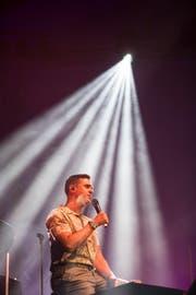 Seven bei seinem Konzert im KKL beim Blue Balls am 20. Juli 2018.(Bild: Manuela Jans-Koch)