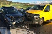 Der Sachschaden beträgt rund 40'000 Franken. (Bild: Luzerner Polizei, 25. April 2019)
