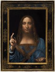 Von Leonardo da Vinci oder nicht? Der «Salvator Mundi», Christus als Weltenherrscher. (Bild: Getty)