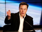Im Streit zwischen Tesla-Chef Elon Musk und der US-Börsenaufsicht SEC um Tweets haben beide Seiten eine Einigung erzielt. (Bild: KEYSTONE/AP/JOHN RAOUX)