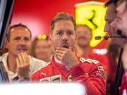 Sebastian Vettel muss seine bevorzugte Behandlung bei Ferrari rechtfertigen (Bild: KEYSTONE/EPA/SRDJAN SUKI)
