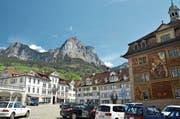 Der Dorfplatz in Schwyz soll attraktiver werden. (Bild: Erhard Gick)