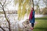Die Körpertherapeutin Barbara Schmid liebt die Berge und das Wasser.