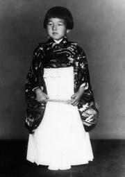 Der heutige Kaiser Akihito an seinem fünften Geburtstag. (Bild: AP Photo, 23. Dezember 1938)