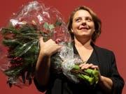 Die Vize-Präsidentin der SP Schweiz, Ada Marra, ist von ihrer Partei im Kanton Waadt als Ständeratskandidatin aufgestellt worden. (Bild: KEYSTONE/ENNIO LEANZA)