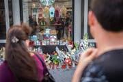 Die Anteilnahme der Bevölkerung nach dem tödlichen Angriff war gross. (Bild: Urs Bucher (St.Gallen, 14. August 2017))