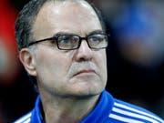 Ehrenmann: Leeds' Trainer Marcelo Bielsa ist der Befehlsgeber der Fairplay-Aktion. (Bild: KEYSTONE/EPA/SEBASTIEN NOGIER)