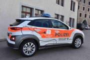 Das neue Elektro-Polizeiauto der St.Galler Kantonspolizei. (Bild: pd)