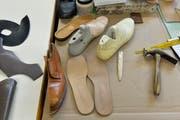 Impressionen aus der Schuhmanufaktur.