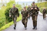 Der 51. Marsch um den Zugersee war mit 574 Teilnehmern ein grosser Erfolg. (Bilder: Roger Zbinden, Zug, 27. April 2019)