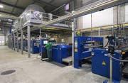 Anlagen fürs Beschichten von Textilien bei Cilander. (Bild: PD)