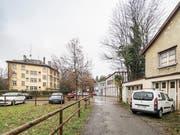 Am Platztor am nordöstlichen Rand der St.Galler Altstadt soll ein zweiter Campus für die Universität St.Gallen entstehen. Die kantonale Abstimmung zu diesem Projekt findet am 30. Juni statt. (Bild: Hanspeter Schiess - 27. November 2018)