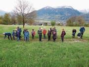 Die Exkursion des OV Wartau führte nach Maienfeld. (Bild: PD)