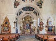 Look at the Collegiate Church of St. Catherine. (Photo: PD / Ueli Kröni)