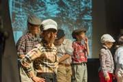 Soll das Kinder-Muscial-Theater Storchen (im Bild eine Szene aus dem Stück «Emil und die Detektive» von der Stadt finanziell unterstützt werden? Das Stadtparlament diskutiert am Dienstag unter Traktandum 7 eine Interpellation der SVP, die genau das verlangt. (Bild: Jil Lohse - 20. Juni 2017)