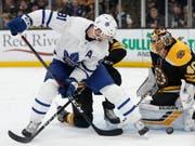 John Tavares von den Toronto Maple Leafs führt das kanadische WM-Aufgebot an (Bild: KEYSTONE/AP/MICHAEL DWYER)