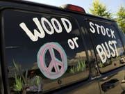 Das geplante Jubiläums-Festival «Woodstock 50» nordwestlich von New York ist abgesagt. (Bild: Keystone/FR76594 AP/STEPHEN CHERNIN)
