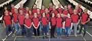 Die Feuerwehr Berneck-Au-Heerbrugg hat die DV des Kantonalverbandes organisiert. (Bild: Gert Bruderer)