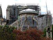 Sanieren ja, aber nicht zu schnell: Experten zweifeln an den (zu) ambitionierten Plänen Macrons zur Sanierung von Notre-Dame. (Bild: KEYSTONE/AP/MICHEL EULER)