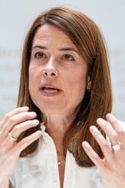 FDP-Parteipräsidentin Petra Gössi. (Bild: Peter Schneider/Keystone)