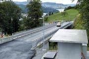 Die Oberdorfstrasse in Walchwil ist seit dem Sommer 2018 für die Durchfahrt offen. (Werner Schelbert, 6. Juli 2018)