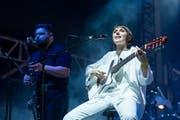 Aldous Harding an einem ihrer Konzerte in Australien. (Foto: Marc Grimwade/WireImage/10.2.2018, Brisbane)