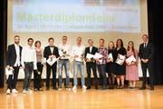 Graduates of the master's program in junior high (Photo: PD)