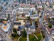 Blick auf das Gelände, das zum Berner Museumsquartier werden soll. (Bild: Stadt Bern)
