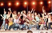 Die Kinder des Minising Werdenberg boten mit ihrer Show «unsichtbar» einen grossartigen Auftritt. (Bilder: Heidy Beyeler)